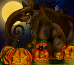 Contest Entry - Hiniku's Halloween by X-x-Magpie-x-X