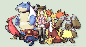 .: Pokemon X Team :. by PhantomCarnival