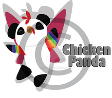 Chicken Panda! by ghostlyspirit