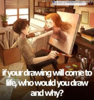 Drawing Come to Life by Katlynchan
