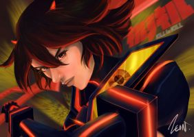 Fan Art - Kill la Kill Ryuko by Zeon1309