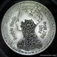 Hand Engraved Coin by shaun750