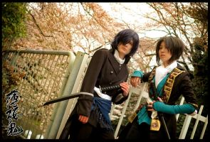 Hakuouki: When they blossom... by christie-cosplay