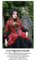 Vampire Queen Stock Gothic 001 by MADmoiselleMeliStock
