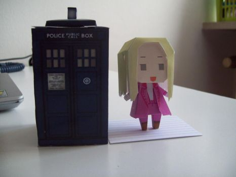 Doctor Who Paperdolls - Romana by Rabenstolz