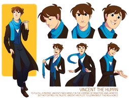 Vincent character sheet by Tiuni