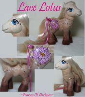 Lace Lotus by DeepDarkCreations