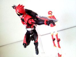 Akiba Red - Jetman's Penultimate Power by 0PT1C5