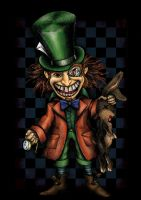 Mad Hatter by beanarts