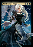 Windwright Mage -Full Art- by flappyb
