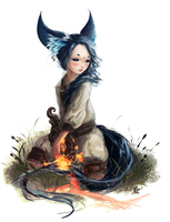[Blade and Soul] Little cake. by ProtoRC