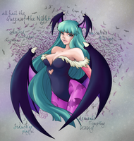 Morrigan by SisterBelldandy