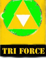 The Legend of Zelda Triforce by DevintheCool