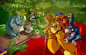 Animal's Music-04 by CARUTOONS