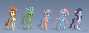 Contact Equines #1 by AssasinMonkey