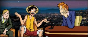 Luffy and The Coco by TheSteveYurko