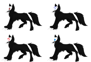 Grim Hound Adopts by Backup-At-Midnight