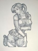 Jill Valentine Revelations by pillowds