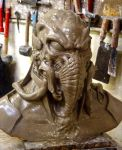 Roswell Survivor sculpt2 by ArtNomad