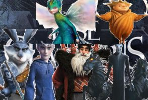 Rise of the Guardians by spottedparr