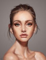 Another Beautiful Face by victter-le-fou