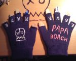 Papa Roach gloves by LuckyPineapple