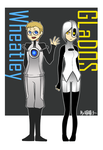 Portal2_GLaDOS and Wheatley by aulauly7