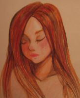 Red Haired Girl by Yunyin