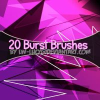 20 burst brushes by LW-Lucy
