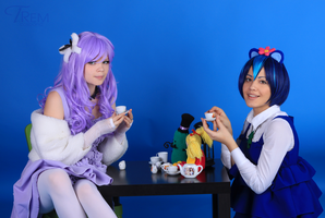 Tea party with Lammy by Takada-Rem