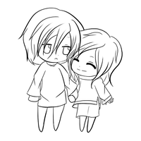 Leon and Satune WIP by mandaangel96