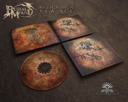 Burial Mound - Relics of a New Age_Digipack by FirewolfDigitalArt