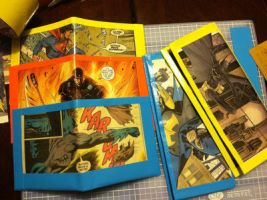 DC Comic Book Ducktape Wallets by Keropanda-DuckieC