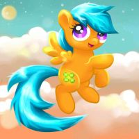 Sun Shines at Night: Commission for VinylBecks by MiraRavenheart