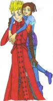 Vash and Orchid by Jessplus10