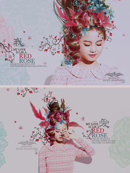 My love is like a red ROSE by RoOZze