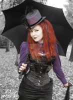 Victorian Gothic Lady 7 by MADmoiselleMeli