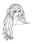 101. Hair - Dave Mustaine by CaptainMetal