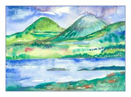 The Paps of Jura by amyhooton