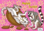 HAPPY EASTER by RUNNINGWOLF-MIRARI