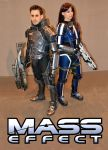 Mass Effect Cosplay Midlands Comic-Con 2014 by masimage