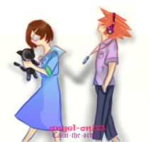 TWEWY - Walk With Me - Collab w/ Caim-the-Order by angel-oni13