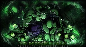 The Incredible Hulk Color Version by MMFERRA