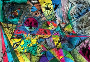 Uniformed Lines Of Chaos III by Lizod