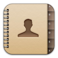 Contacts icon by flakshack