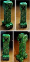 Minecraft Creeper Sculpture by Forestina-Fotos