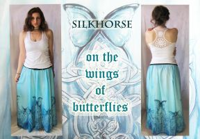 On The Wings Of Butterflies by SilkHorse