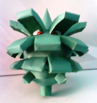 pineco papercraft by Odnamra22