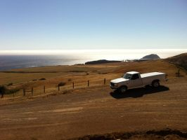 1997 Ford F-250 Powerstroke near Point Sur CA by Partywave
