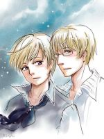 APH Esti and Fin by MaryIL